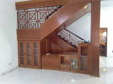 Seksyen 4 bangi double storey for rent