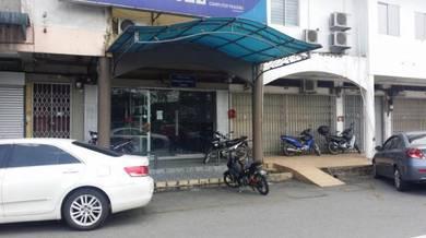 Ground floor Shoplot Taman Senai Utama for Rent