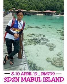 Mabul island + flight