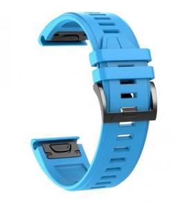 Garmin Fenix 5X Plus QuickFit OEM Blue Watch Band