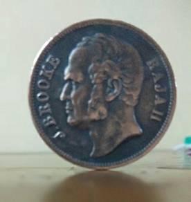 Old coin/syiling lama.