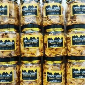Cheese Comot Comot Cheezy Chips Kerepek Keju