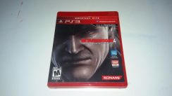 CD Ps3 Metal Gear Solid 4