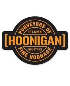 Hoonigan stiker