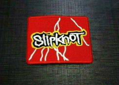 Patches SLIPKNOT pop Embroidered Sew Iron Patch LO