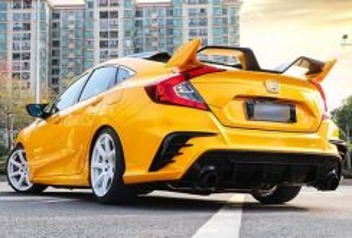 Honda civic fc spoiler 450 abs bodykit