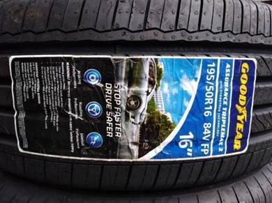 195/50/16 Good Year Triplemax 2 Tyre Tayar