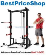 BPS Multifuntion Smith Machine Squat Rack SM370