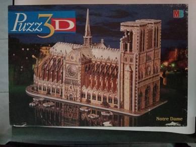 3D Puzzle Notre Dam