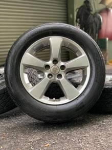 Original sports rim harrier 18 inch tyre 80%