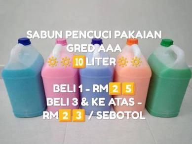Sabun pencuci pakaian (10 liter)