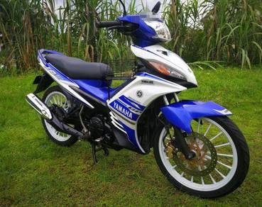 Yamaha lc135 lc 135 5s gp edition v3 (2015) wsm