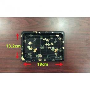 19x13.2x4.6cm Sushi box gold ± 50pcs/100pcs