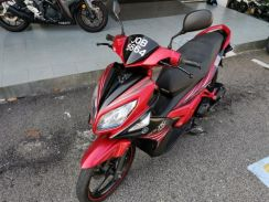 Yamaha nouvo lc / deposit rendah / motor murah