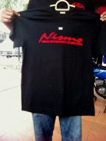 T shirt design nismo