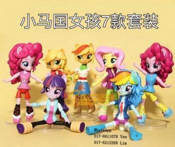 My Little Pony Girls Figure (7pcs/set)