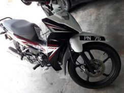 Honda with vvip classic plate number