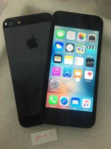Apple iphone 5 16gb second 2nd hand used set ori