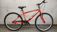 New Great cycle 26er bicycle single speed mtb red