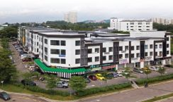 Cheap, New 3 Storey, 4 Storey Shop Office , Seri alam, For Rent