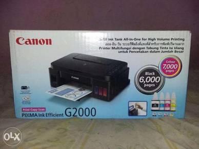 Kotak printer canon g 2000