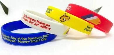 Printing silicone wristband - Malaysia