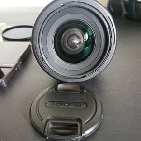 Tokina 11-16 f2.8 dx lens + cokin & marumi filter