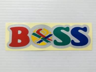 Stiker Benetton BOSS