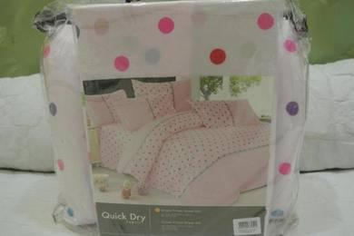 Set Cadar Comforter Single Size (Code CSW45)
