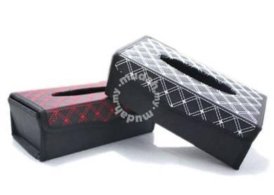Kotak Tissue Leather Box
