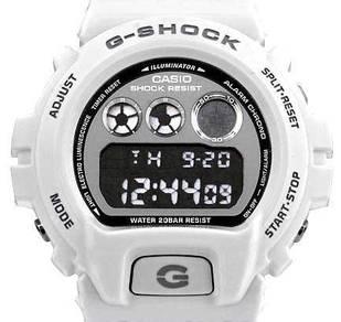 Watch - Casio G SHOCK DW-6900NB-7 WHITE -ORIGINAL