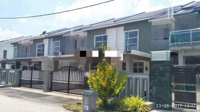 2 Storey Terrace 22' x 80' Tongkang Pecah Batu Pahat