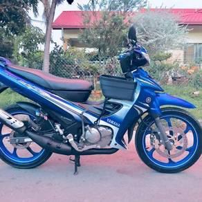 Yamaha 125ZR GP Blue Limited Edition 125Z 125