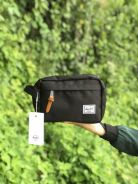 Herschel clutch unisex chapter kit black blue grey