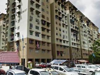 [NEGOTIABLE] Flat Sentul Utama, Jalan Dato Senu