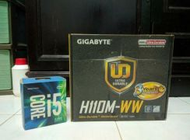 Intel i5 6500 & Gigabyte H110M mobo / motherboard