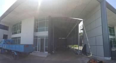 Warehouse office showroom likas kk