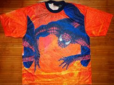 Authentic SPIDERMAN FULL PRINT SzXL T-Shirts