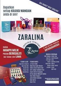 Zaralina perfume murah rawang