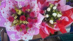 Real rose flowers FREE delivery