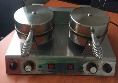 Waffle machine mesin wafer