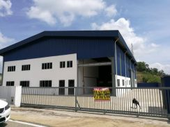New factory at semambu