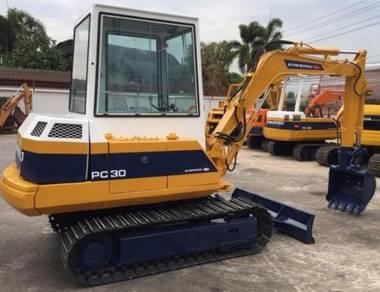 Japan Imported Komatsu Excavator PC30
