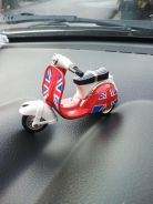 Mini vespa metal diecast