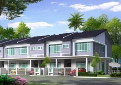 Brand new Double storey link house (Telok Panglima Garang)