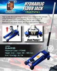 ROMEO OJM3130 Dual Pump 3Ton Hydraulic Floor Jack