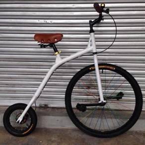 Penny farthing retro collectors vintage bicycle