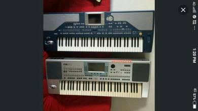Korg keyboard Pa800 & pa50