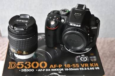 D5300 with 2 lenses