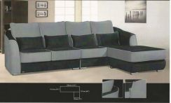 Contain l-shape sofa-8248